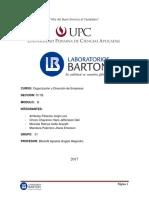 Laboratorio Barto