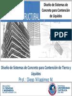 Diplomatura PUCP - Dise+¦o de Sistemas de Concreto para Contenci+¦n de L+¡quidos (1 cara)