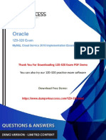 1Z0-320 Dumps - Download Oracle Data Analysis 1Z0-320 Exam Questions.pdf