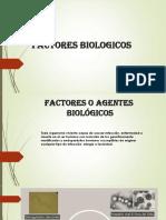 Factores Biologicos - Charla