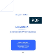 Modelo memoria DEA