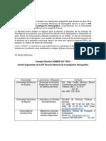 Listado Universidades Formacion Demografia