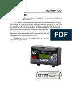 Manual Otm 4042