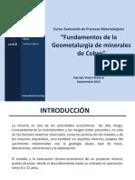 Fundamentos Geometalurgia