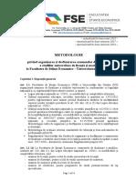 Metodologie Finalizare Studii FSE 2018