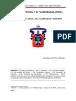 La Funcin Notarial y Su Vulnerabilidad Jurdica- Mtro. Guadalupe