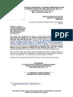 Oficio Invitacion a Finiquito