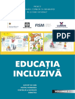 Educatia Incluziva Volum 1 Rom