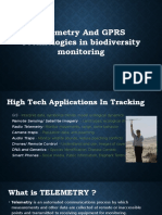 Telemetry and GPRS Technologies in Biodiversity Monitoring