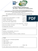 FIM Long Track World Championship Challenge - Bielefield GER 24.06.2018 - Supplementary Regulations