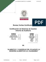Info Sv1-2m a Cajabamba Haccp