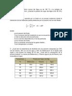 Ejercicios de Equilibrio fisico de los fluidos petroleros