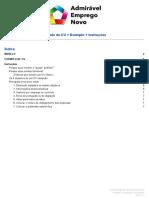 Modelo CV Gratuito v2.0