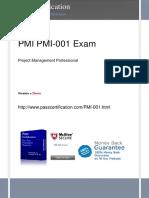 PMI PMI-001 Free PDF Demo.pdf