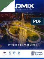Catalogo Admix 2018