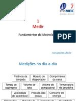 FUNDAMENTOS DA METROLOGIA