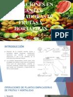 Operaciones en Plantas Empacadoras de Frutas y Hortalizas
