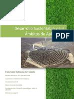 Desarrollo Sustentable y Sus Ambitos de Aplicacion