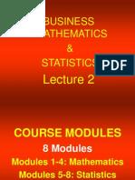 Bizmath.Lecture2