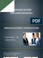 COMUNICACIÓN ORGANIZACIONAL...