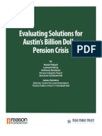2018-04-RR-Evaluating Solutions for Austin's Billion Dollar Pension Crisis-CLG-Quintero Et Al