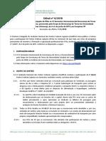 Edital SindPFA nº 6/2018 - IV Seminário de Governança de Terras da Unicamp
