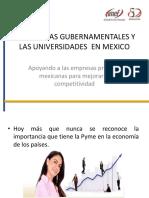 Programas de Apoyo a PYMES