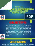 Presentación NIIF 14