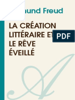 SIGMUND FREUD-La Creation Litteraire Et Le Reve Eveille-[Atramenta.net]