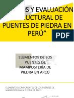 Documents.mx Analisis y Evaluacion Estructural de Puentes de Piedrapptx
