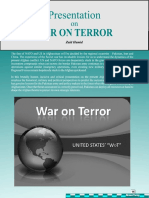 "UNITED STATES' "" WAR ON TERROR """