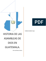 Asambleas de Dios Guatemala