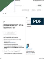 Configurar Los Registros SPF Para Que Funcionen Con GSuite - Ayuda de Administrador de G Suite