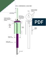 Antena Vertical Hipodermica
