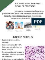 Curva de Crecimiento Microbiano y Obtención de Proteasas