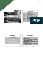 HIDROLOGIA - ASPECTOS GENERALES