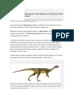 Chile Saurus