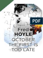 Fred Hoyle - La Întâi Octombrie Va Fi Prea Târziu