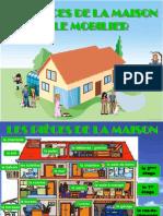 44776 Les Pices de La Maison Et Le Mobilier