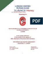 Project Reliance Demat Accounts Sunil
