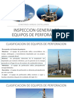Inspeccion General de Equipos de Perforacion