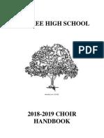maddie west choir handbook