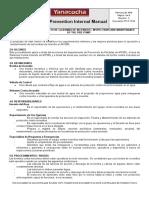 PPI-P-10.02 Inspección y Mantto. de La Bomba de Incendios