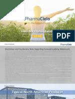 PharmaCielo_Investor Presentation_v35 - Deal Deck