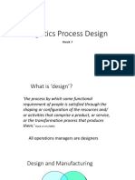 Logistics Process Design