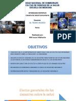 Efectos Generales de Los Desastres Sobre Las Personas y Los Servicios Desalud