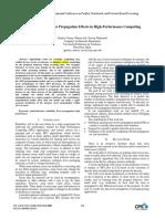IEEE - Analyzing Data-Error Propagation Effects in High-Performance Computing (Utrera y Otros, 2016)