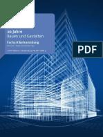 20 Jahre Bauen Und Gestalten Fachartikelsammlung
