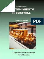 Tecnicas de Mantenimiento Industrial