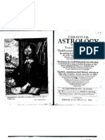 William Lilly Christian Astrology